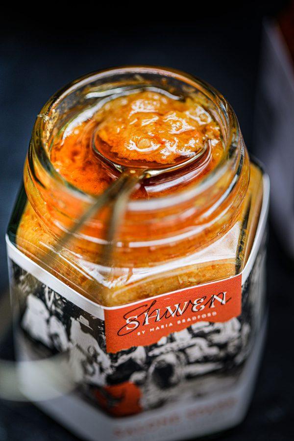 Chilli sauce jar