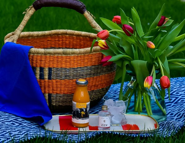 Bolga basket picnic